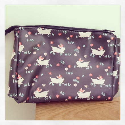 30% off Black Hare Make Up Bag